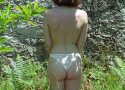 Whore naked outdoor